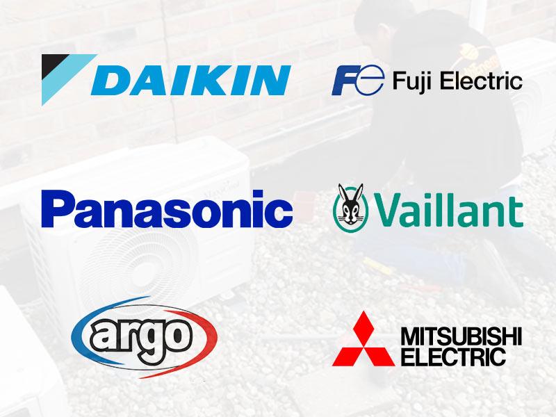 Airconditioning merken - Multi energy solutions - daikin, fuji electric, panasonic, vaillant, argo, mitsubishi