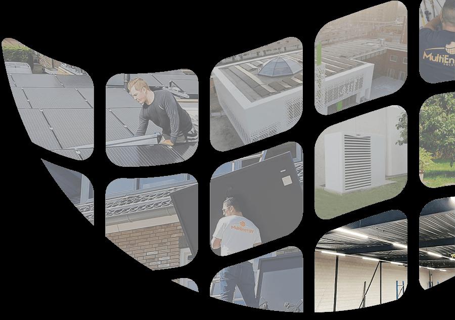 Multi Energy Solutions logo met duurzame energie oplossingen desktop
